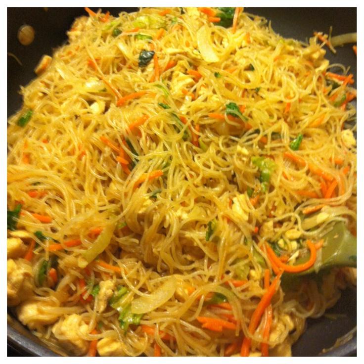 Pancit Bihon Recipe (Filipino Fried Rice Noodles) Recipes — Dishmaps