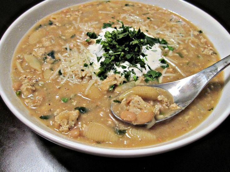 Tuscan White Bean Soup | soup~ | Pinterest