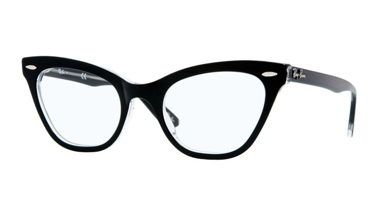 Black Ray-Ban Cat's Eye Glasses