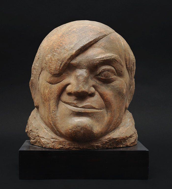 Pablo Gargallo   quot Masque de Picasso quot  terre cuite  1913Pablo Gargallo Sculpture
