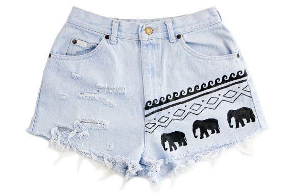 tribal elephant & waves