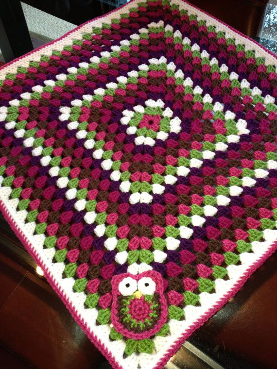 Crochet Patterns For Blankets Square Patterns : Crochet Baby Blanket Pattern - Granny Square Car Seat ...