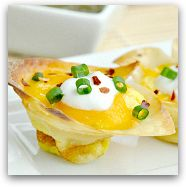 Jalapeno Popper Quiche Cups | Cooking Apps & Snacks | Pinterest