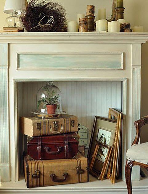 Unused Fireplace Decor STYLING Pinterest