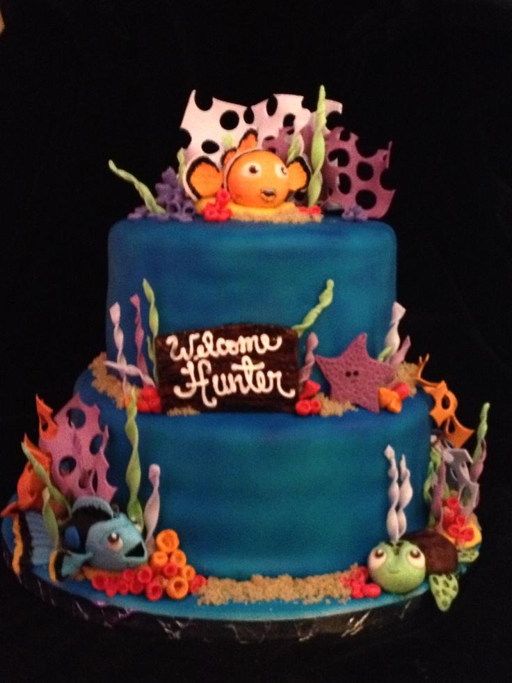 nemo baby shower cake baby bell pinterest