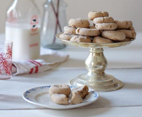 have some crystallized ginger to use up...Double Ginger Cookies
