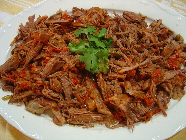 Slow Cooker Beef Machaca (Mexican Shredded Beef) | Recipe