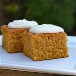 Paul's Pumpkin Bars   Recipe