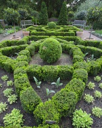Martha Stewarts Culinary Herb Garden Garden Joy Pinterest