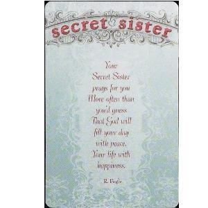 Secret Sister Printables | secret pal songs secret pal poems secret ...