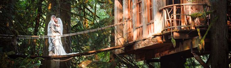 Treehouse point issaquah 80 people maximum for summer weddings