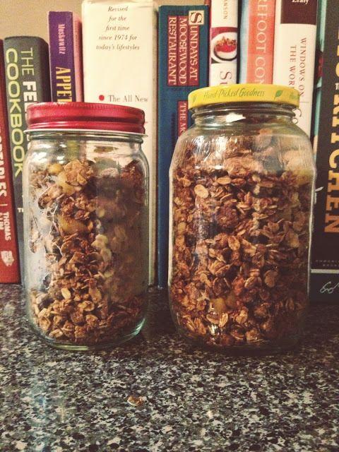 Maple Almond Granola | BREAKFAST - gluten/sugar free | Pinterest