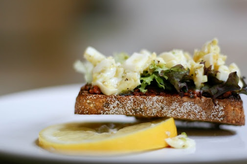 Egg salad sandwich-remember this pin, its your favorite egg salad ...