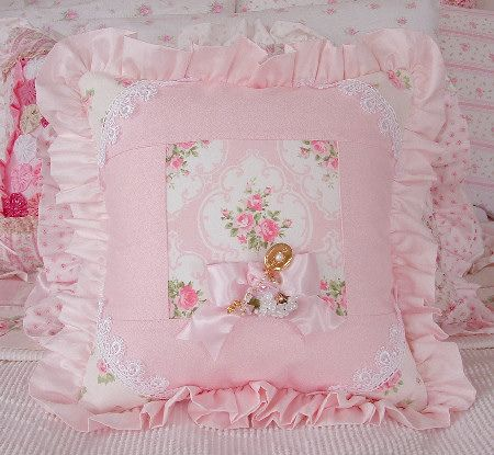 Shabby Chic Pink Pillows : shabby chic pillow Pillows & Cushions Pinterest