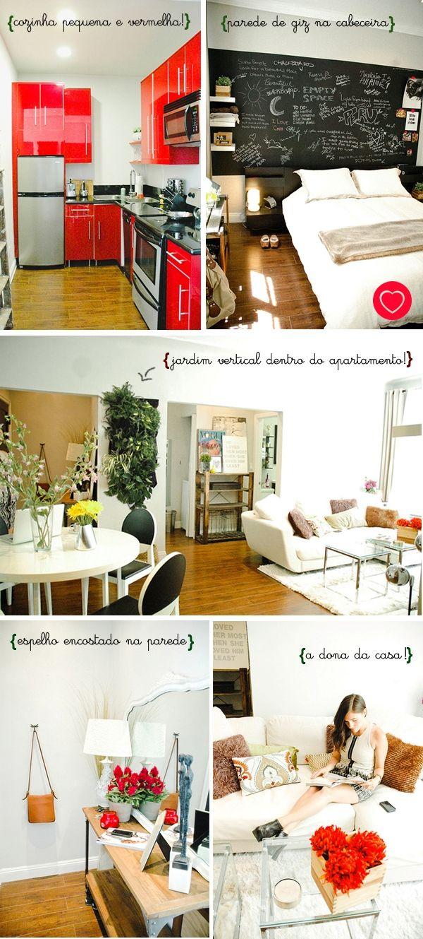 decoracao cozinha vermelha:cozinha pequena vermelha