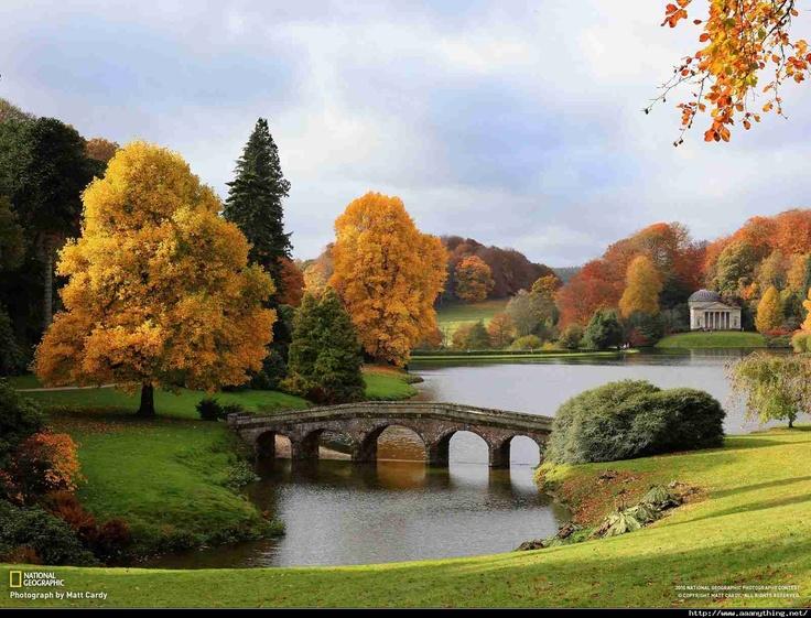 Stourhead Gardens In England Amazing Nature Pinterest
