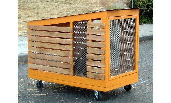Modern chicken coop outdoor rooms pinterest for Modern chicken coop