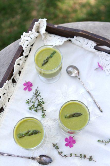 Creamy Asparagus, Lemon & Coconut Milk Soup Recipe (Dairy-Free)   Rec ...