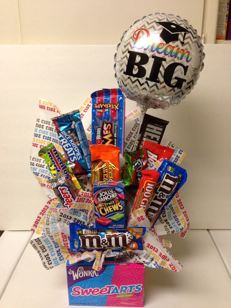 Graduation candy bouquet favorite recipes pinterest