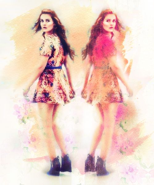 Teen Wolf fan art and outfit appreciation for Lydia :)