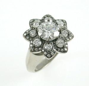Fleurish Diamond Ring £25000 #ring #diamond