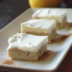 Apple Cinnamon Sugar Cookie Bars | sweets | Pinterest