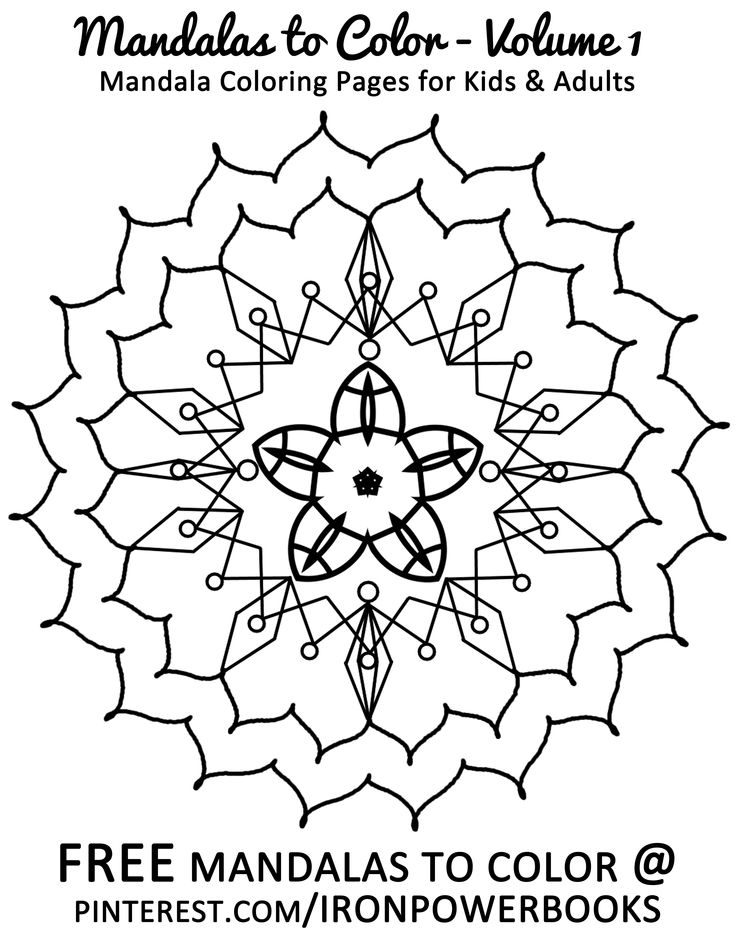 pin by ironpower publishing on mandalas for relaxation and