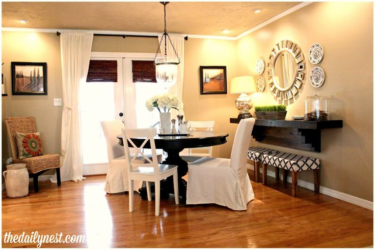 Simple Dining Room Updates For The Home Pinterest