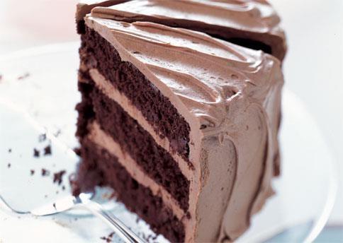 Cool Chocolate Recipes: Chocolate Cake with Caramel-Milk