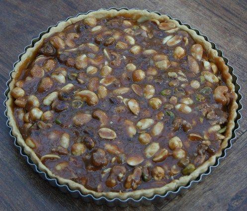 Caramel Nut Tart | DESSERTS | Pinterest