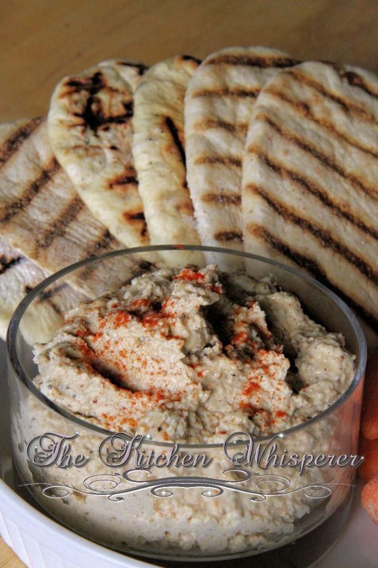Roasted Cauliflower Hummus | Appetizers & Dips | Pinterest