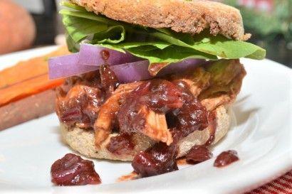 Cranberry BBQ Sauce & Pulled Turkey Sandwiches | Tasty Kitchen: A ...