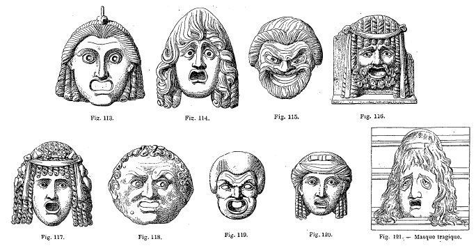 ancient greek mask template - greek masks coloring pages coloring pages