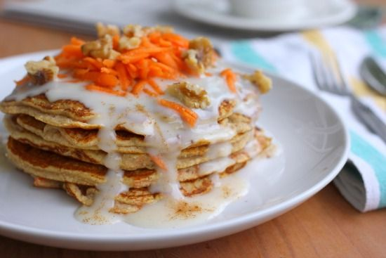 carrot_cake_pancakes | My scones, muffins and breads!! | Pinterest