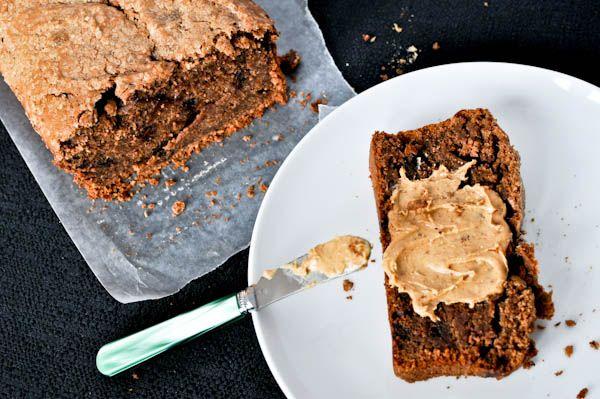 banana peanut butter chocolate bread | recipes | Pinterest