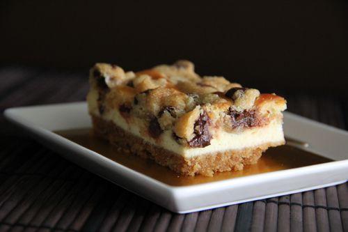Cookie Dough Cheesecake. Ingredients: graham cracker crumbs, butter ...