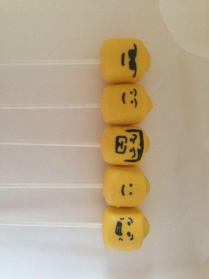 Lego cake pops | The Cake Pop Queen | Pinterest