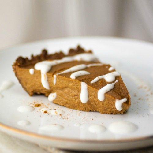 ... .com/recipe/simple-healthy-pecan-pumpkin-pie/ #EarthBalance #MixItUp