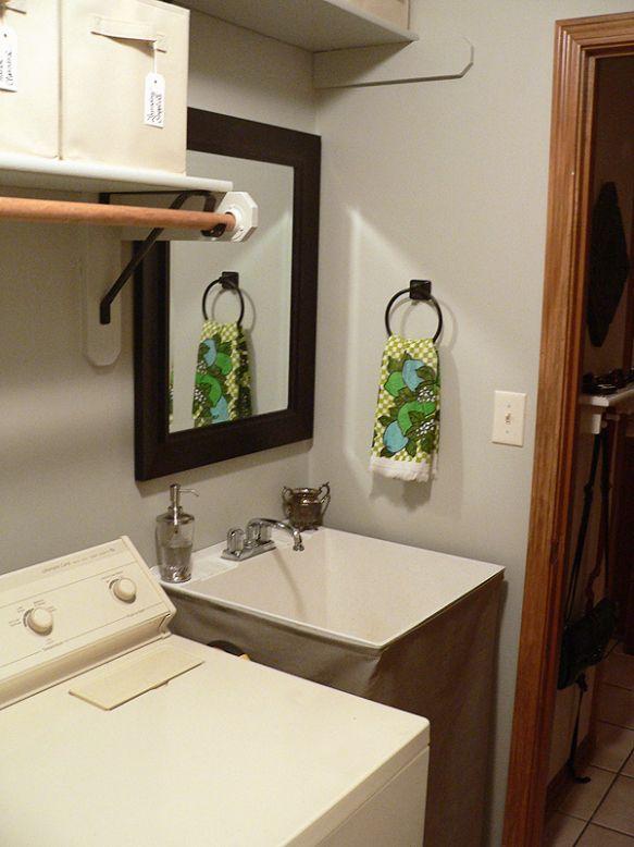 Basement Utility Sink : Basement Utility Sink Skirt! D ~Toolbelt Diva ~ Pinterest
