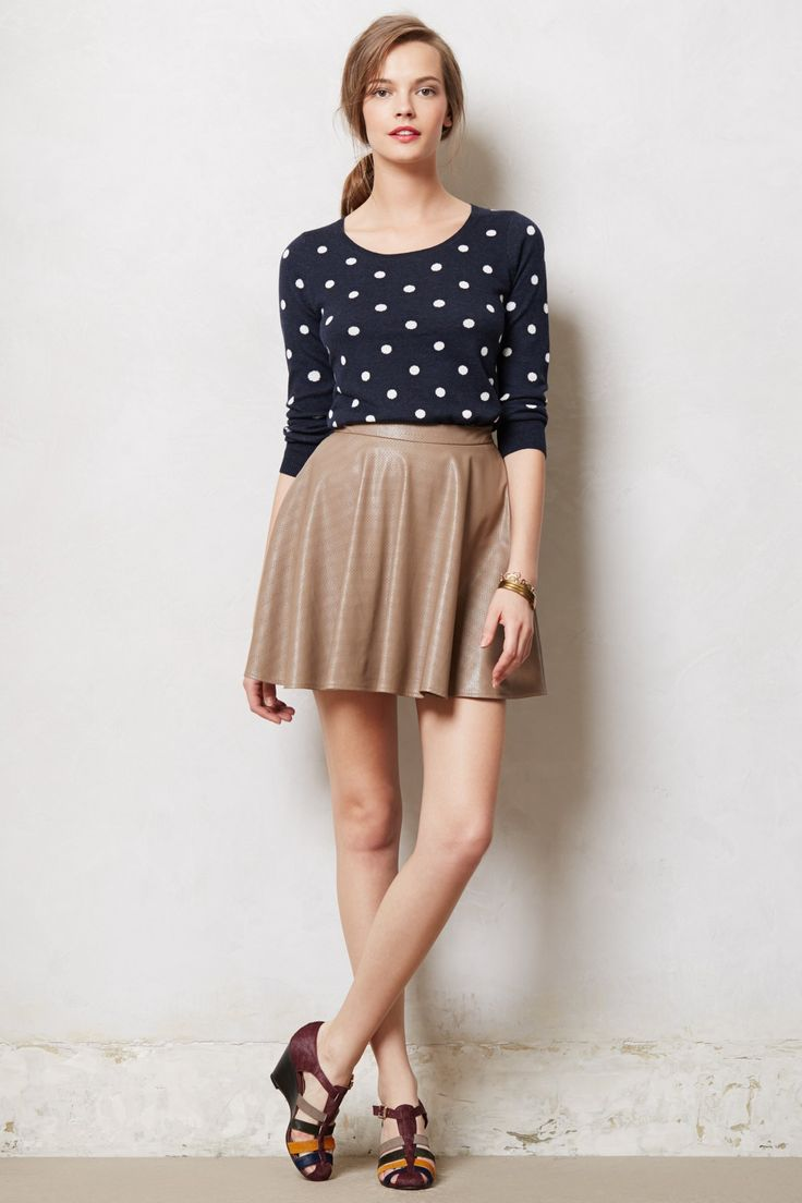 Dotted Darby Pullover - Anthropologie.com