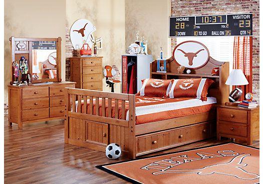 longhorn bedroom set at rooms to go kids kid bedroom