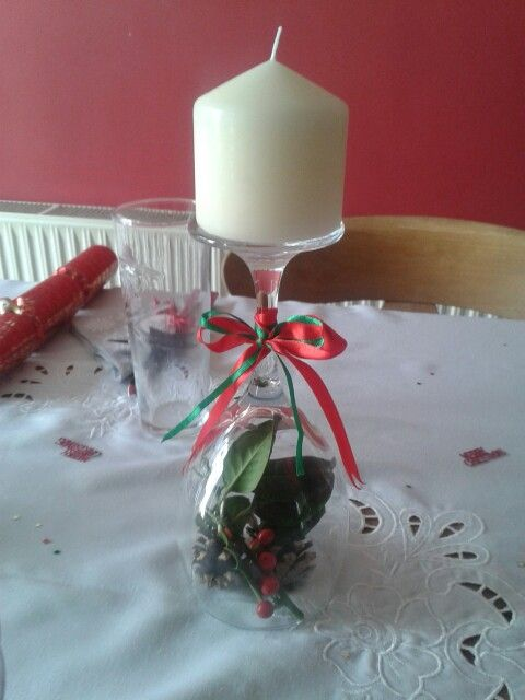 Christmas table decorations :)