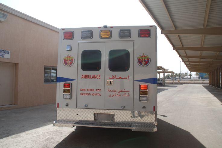 King Abdulaziz University Hospital | Ambulance Type - III ...