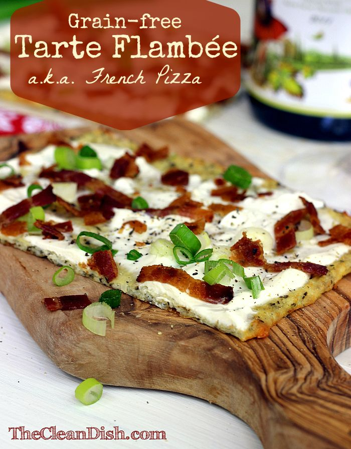 Tarte Flambee Recipe — Dishmaps