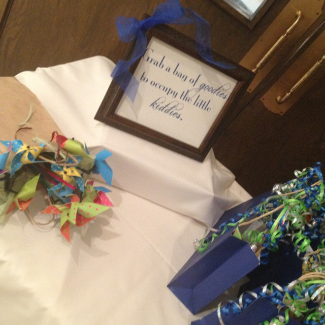Wedding Gifts For Child : Gift bags for kids durning the wedding Wedding ideas Pinterest