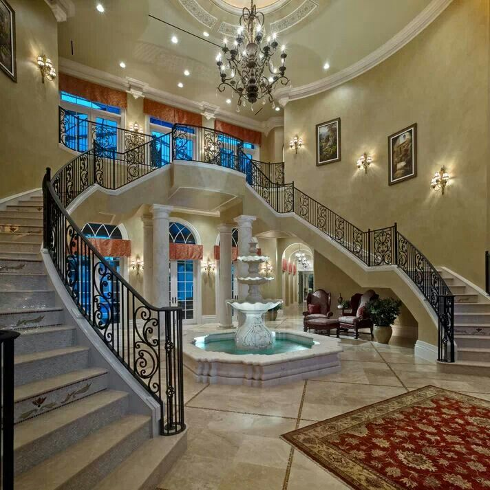 Beautiful Mansion Foyers : Beautiful foyer home and decor pinterest