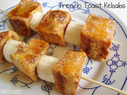 French toast kebabs! | fun! | Pinterest