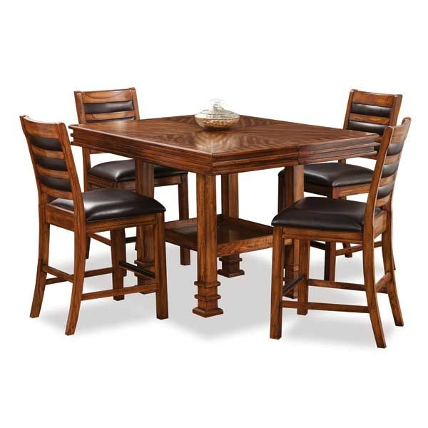 Jackson Lodge 5 Piece Pub Set American Furniture