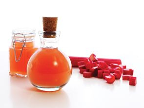 rhubarb s natural pucker in a bottle of homemade bitters # rhubarb ...