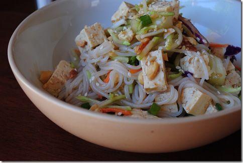 Cold Sesame Peanut Noodles | Recipes - Salads & Cold Dishes | Pintere ...